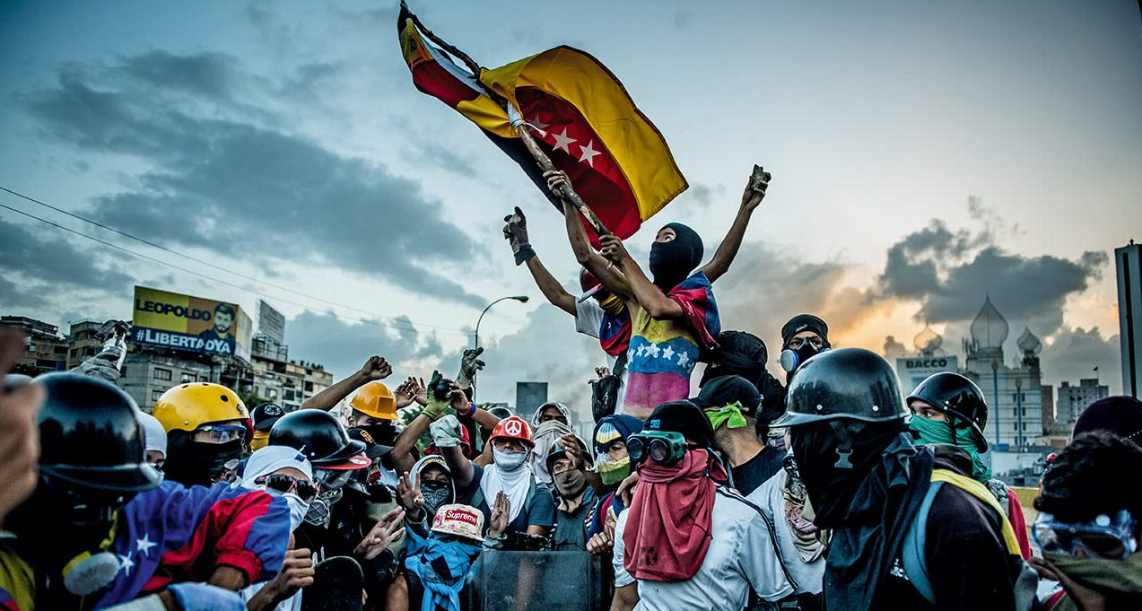 The Armed Groups Propping Up Venezuela's Government